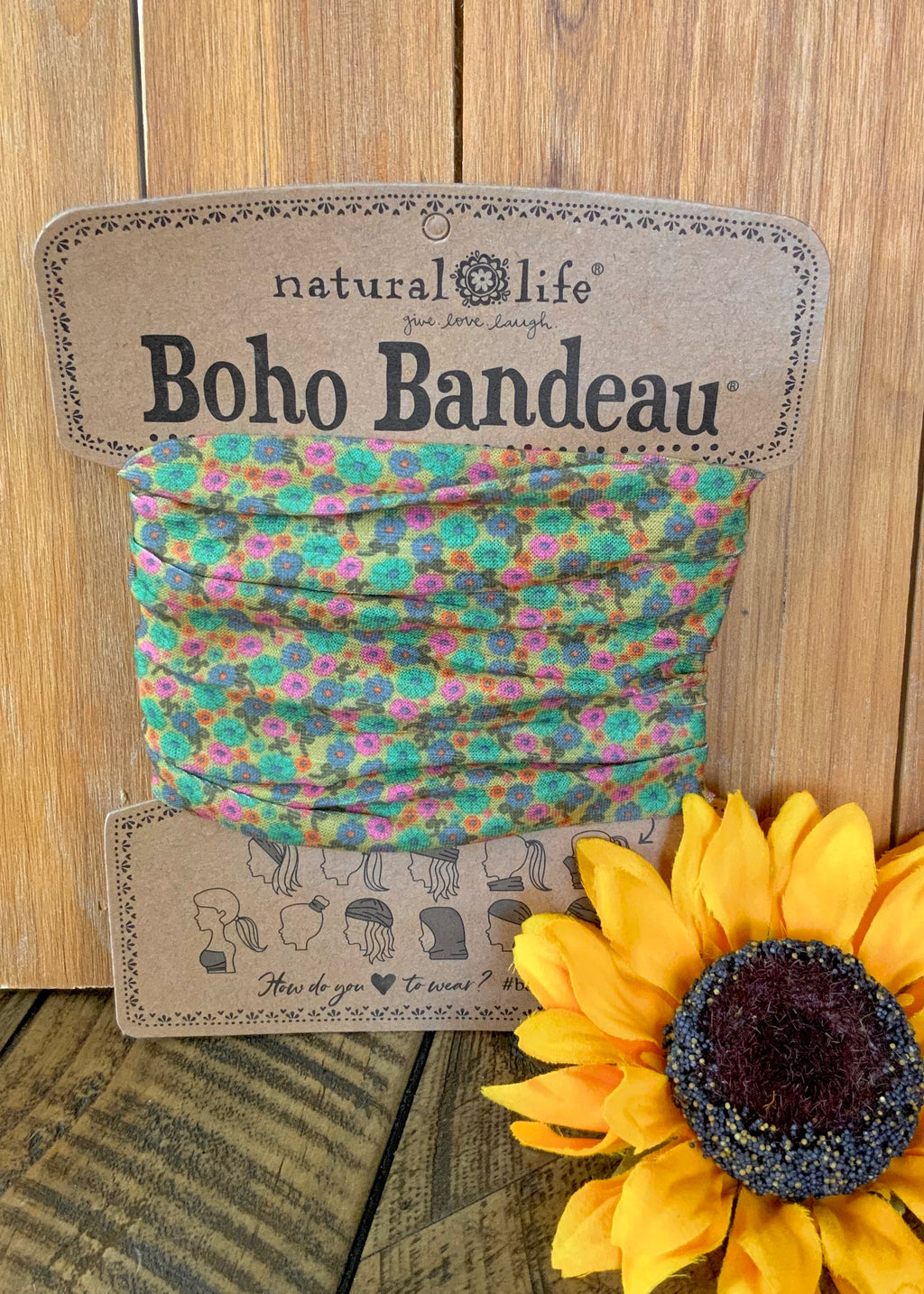 60's Chick Full Boho Bandeau
