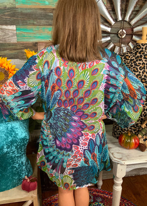 Land of the Peacock Kimono