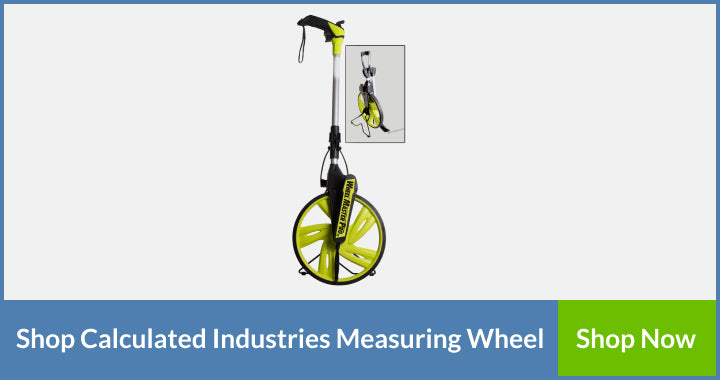 Calculated Industries 6540 measuring wheel