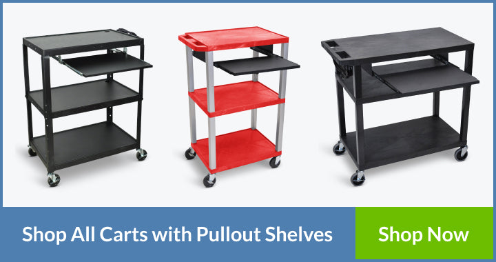 pullout keyboard shelf