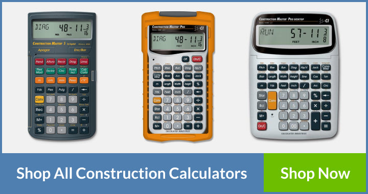 Construction Calculators