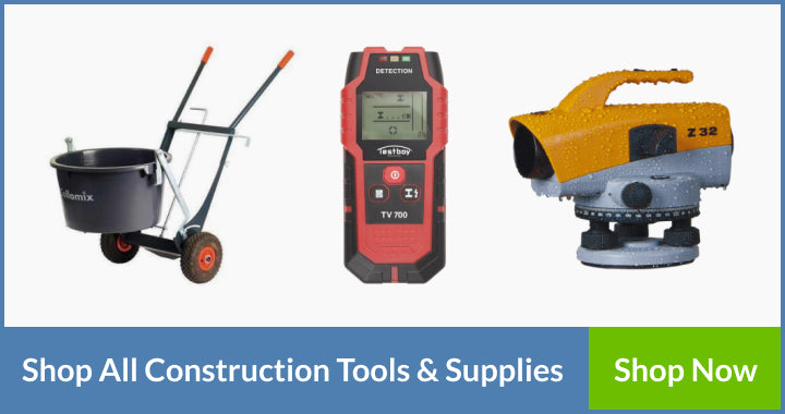 construction tools and supplies
