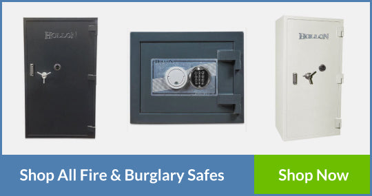 fireproof and burglar-resistant safes