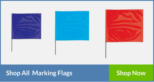 various sizes Marking Flags