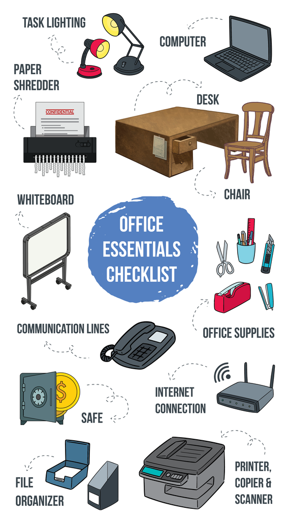List of Essential Office Supplies & Equipment | Engineer Warehouse