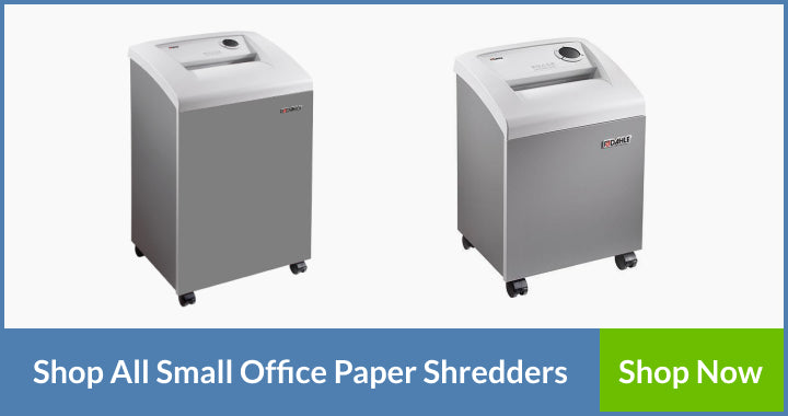 Dahle's small office paper shredders