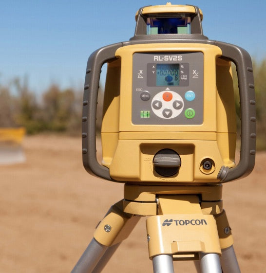 topcon rotary laser levels