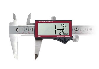 Calculated Industries AccuMASTER Digital Fraction Caliper - 7408