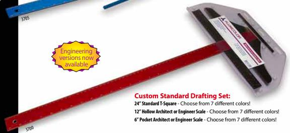 AlumiColor Custom Standard Engineer Set - 3720
