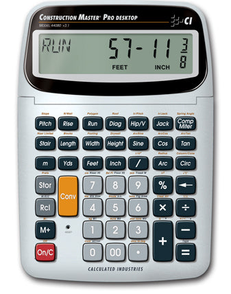 Calculated Industries Construction Master Pro Desktop Calculator - 44080