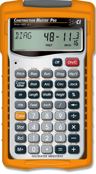 Calculated Industries Construction Master Pro Calculator - 4065