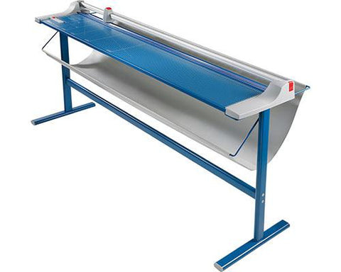 "Dahle 72"" Cut Length Premium Large Format Rolling Trimmer with Stand - 472s"
