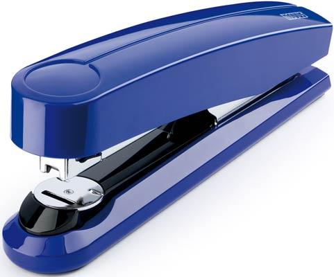 Dahle Novus B5FC Flat Clinch Stapler (Blue) - 020-1480