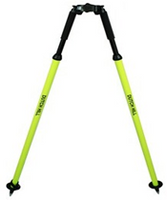 Dutch Hill Pole Saver Aluminum Bipod (Fluorescent Yellow) - DH04-001-PS