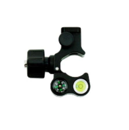 Dutch Hill, Quick Release Pole Clamp, With Bubble And Compass - DH06-102
