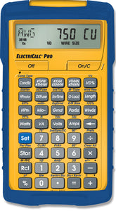 Calculated Industries ElectriCalc Pro Electrical Code Calculator w/ Armadillo Gear Case - 5070