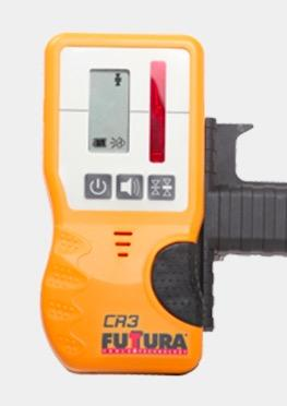 Futtura Dry Battery Laser Level with CR3 Receiver - LT-800-DB