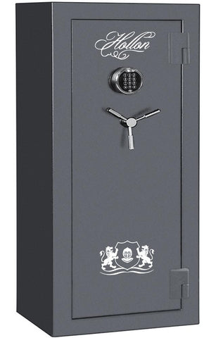 Hollon Safe 59 x 30 x 21 Crescent Shield Gun Safe Series (Gun Metal Gray) - CS-24