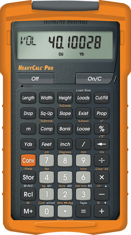 Calculated Industries HeavyCalc Pro Construction Calculator - 4325