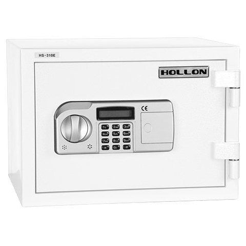 "Hollon Safe 12 1/8"" x 16 1/2"" x 14"" 2 Hour Home Safe (White) - HS-310D"