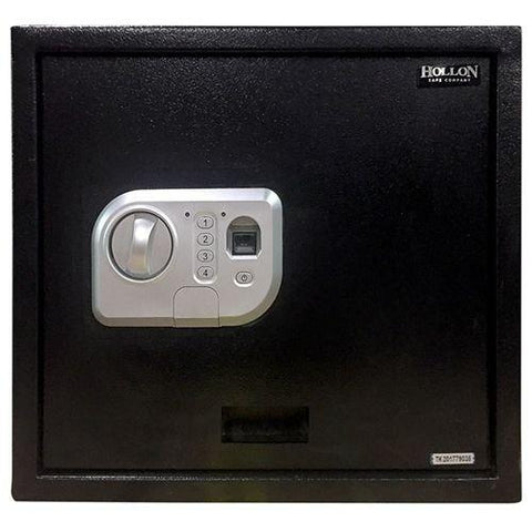 "Hollon Safe 5"" x 15 3/4"" x 13 3/4"" Biometric Pistol Safe (Black) - PB-BIO-2"