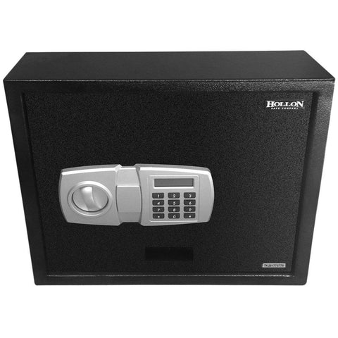 Hollon Safe 13 3/4 X 15 3/4 X 4 7/8 Pistol Safe (Black) - PBE-2