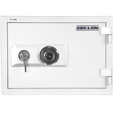 "Hollon Safe 13 3/4"" x 19 1/4"" x 16 3/4"" 2 Hour Home Safe (White) - HS-360D"