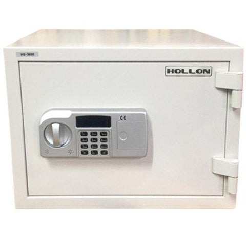 "Hollon Safe 13 3/4"" x 19 1/4"" x 16 3/4"" 2 Hour Home Safe (White) - HS-360E"