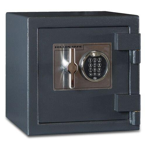 "Hollon Safe 14"" x 14"" x 14"" B-Rated Cash Safe (Gray) - B1414E"