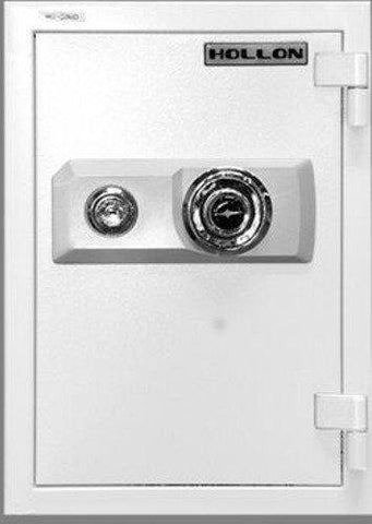 "Hollon Safe 19 3/4"" x 13 3/4"" x 16 3/4"" 2 Hour Home Safe (White) - HS-500D"