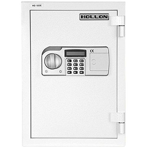 "Hollon Safe 19 3/4"" x 13 3/4"" x 16 3/4"" 2 Hour Home Safe (White) - HS-500E"
