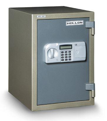 "Hollon Safe 19 3/4"" x 13 3/4"" x 16 3/4"" Data Safe (Gray) - HDS-500E"