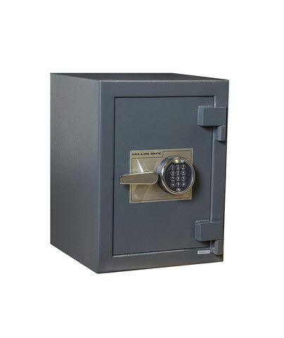 "Hollon Safe 20"" x 15"" x 15"" B-Rated Cash Safe (Gray) - B2015E"