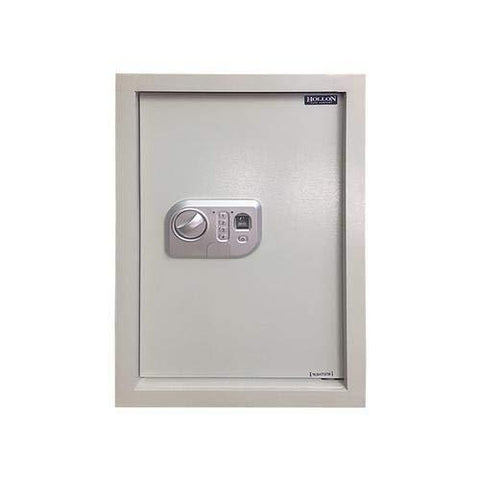 "Hollon Safe 22"" x 16"" x 4"" Biometric Wall Safe (White) - WS-BIO-1"