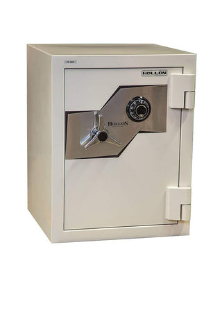 "Hollon Safe Oyster Series 27"" x 21 1/8"" x 20 3/8"" Fire and Burglary Safe (White) - FB-685C"