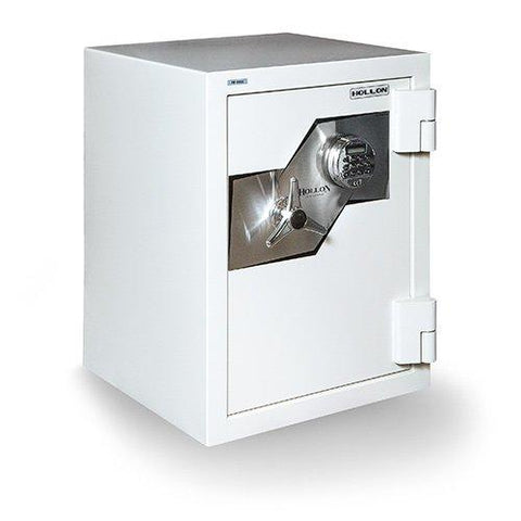"Hollon Safe Oyster Series 27"" x 21 1/8"" x 20 3/8"" Fire and Burglary Safe (White) - FB-685E"