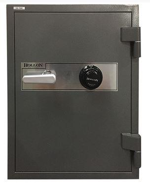 "Hollon Safe 27"" x 21"" x 20 1/8"" 2 Hour Office Safe (Gray) - HS-750E"