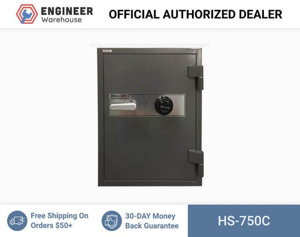 "Hollon Safe 27"" x 21"" x 20 1/8"" 2 Hour Office Safe (Gray) - HS-750C"