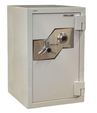 "Hollon Safe 33 1/4""x 21""x 22 1/2"" Fire and Burglary Safe (White) - FB-845C"