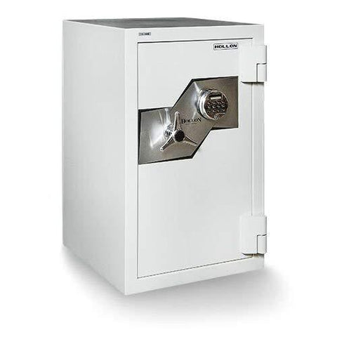 "Hollon Safe Oyster Series 33 1/4"" x 21 1/8"" x 22 1/2"" Fire and Burglary Safe (White) - FB-845E"