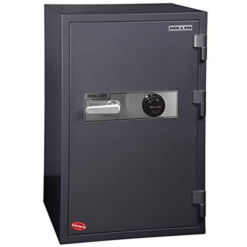 "Hollon Safe 36 1/2"" x 23 5/8"" x 22 5/8"" 2 Hour Office Safe (Gray) - HS-1000E"