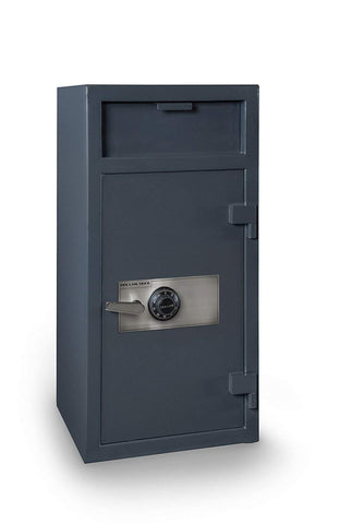 "Hollon Safe 40"" (H) x 20"" (W) x 20"" (D) Depository Safe (Gray) - FD-4020C"