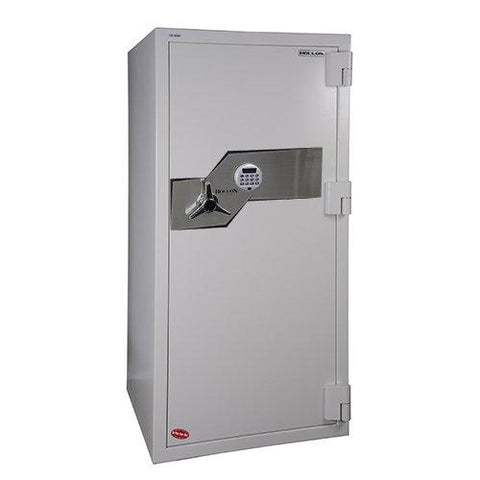 "Hollon Safe Oyster Series 59 1/2"" x 28"" x 29"" Fire and Burglary Safe (White) - FB-1505E"