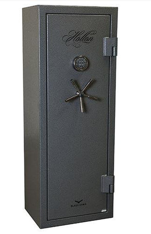 Hollon Safe 59 x 24 x18 Black Hawk Gun Safe Series (Hammered Gray) - 90 MIN BHS-16