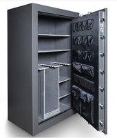 Hollon Safe 72 x 45 x 28 Black Hawk Gun Safe Series (Hammered Gray) - 90 MIN BHS-45