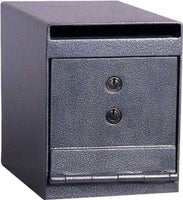 "Hollon Safe 8"" x 6"" x 12"" Drop Safe (Gray) - HDS-02K"