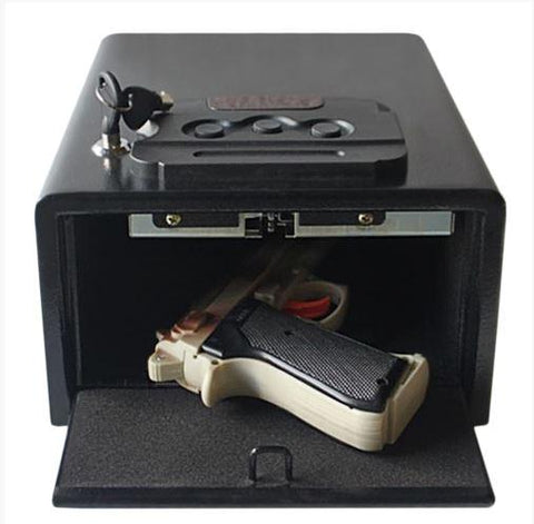 "Hollon Safe 9""(W) x11.5""(L) x 5 3/4""(H) Pistol Safe (Black) - PB10"