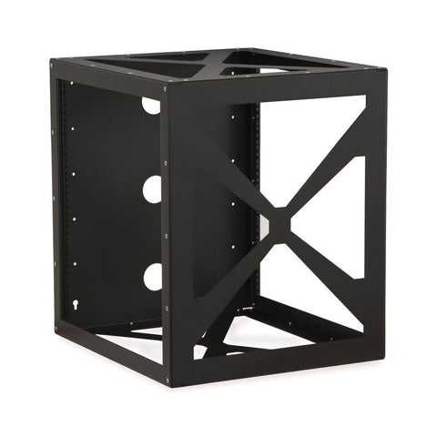 Kendall Howard 12U Side Load Wall Mount Rack - 1915-3-200-12