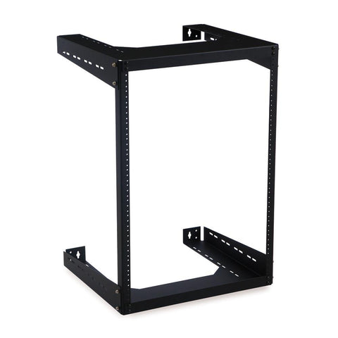 "Kendall Howard 15U 18"" Deep Open Frame Wall Rack - 1915-3-500-15"