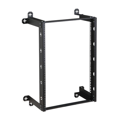 "Kendall Howard 16U V-Line Wall Mount Rack - 12"" Depth - 1915-3-300-16"
